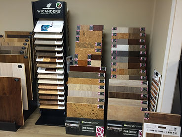 Cork Flooring Displays Seattle Showroom