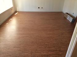 cork floor install plank seattle
