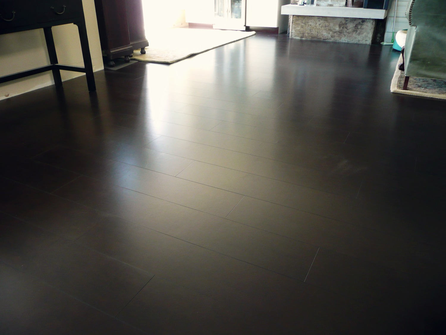 leather floor install seattle