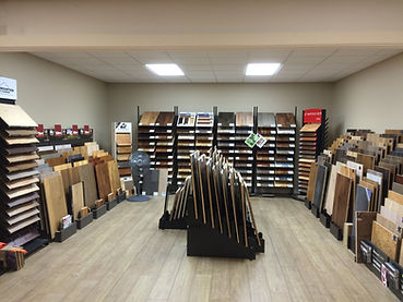 Hardwood Flooring Displays Seattle Showroom