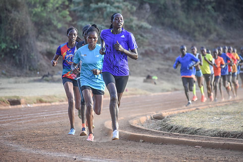 Iten track session Kenya