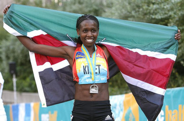 Hilda Kibet NYC Half Marathon
