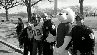 Pablo with DC Police