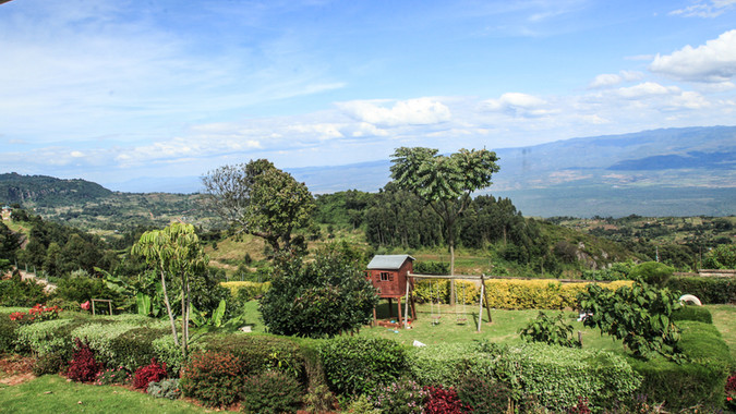 Great Rift Valley from The Lodge