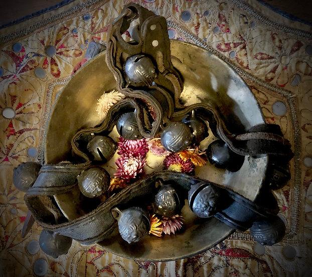 Shaman Bell Necklace - Nepalese Jhankri Ghanti Mala