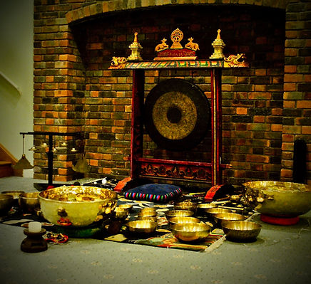 A Silence In Sound SoundBath featuring Tibetan Singing Bowls and Singing Bowl Gongs