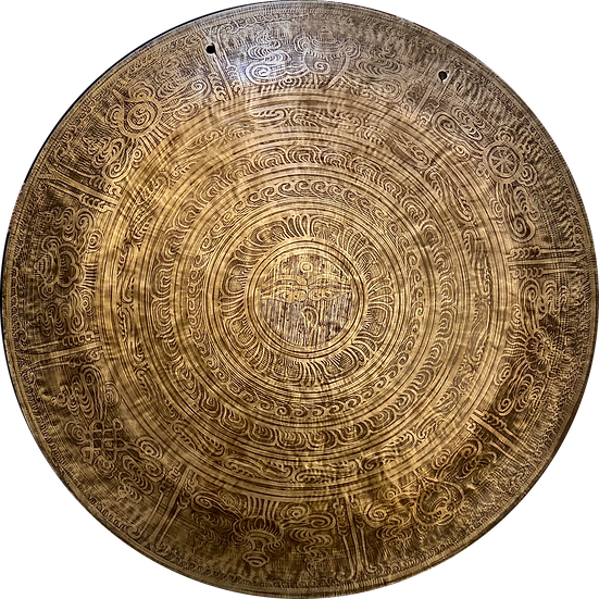 """24"""" (60cm) Nepalese Singing Gong - Wind (Feng) - Standard"""