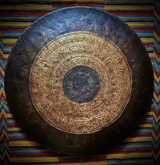 "40"" (100cm) Nepalese Singing Gong - Chau  (Tam Tam) - Standard"
