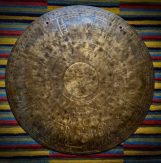 """28"""" (70cm) Nepalese Singing Gong - Wind (Feng) - Standard"""