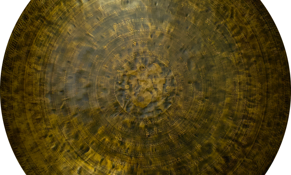 """Nepalese Singing Gong - Wind (Feng) 100cm (40"""")"""
