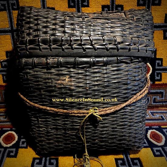 Antique Jhākri (Nepal Shaman) Basket