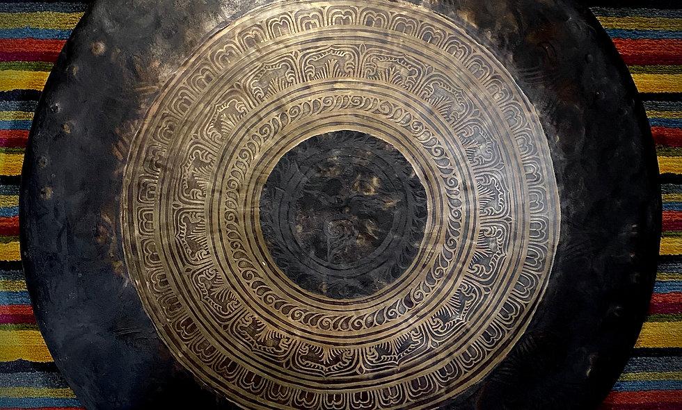 "Nepalese Singing Gong - Chau (Tam Tam) 70cm (28"")"