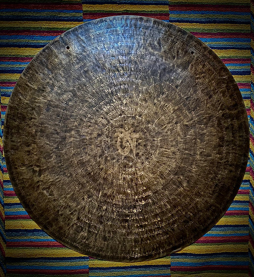 """40"""" (100cm) Nepalese Singing Gong - Wind (Feng) - Standard"""