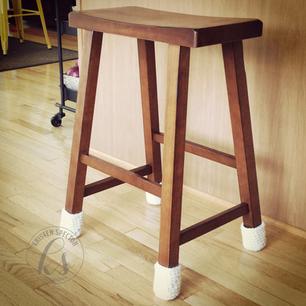 Chair Sock (yes, chair socks)