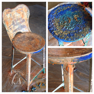 Stool Makeover: Part 2
