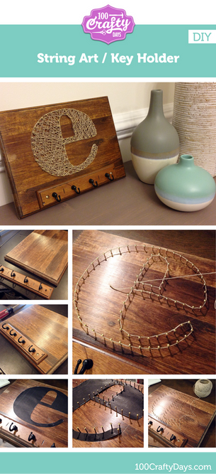 String Art DIY: Finished!