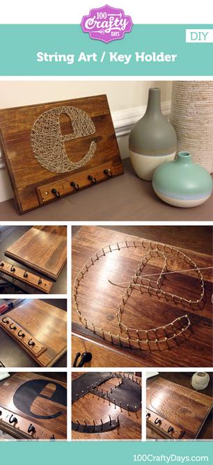 String Art DIY: Finished!