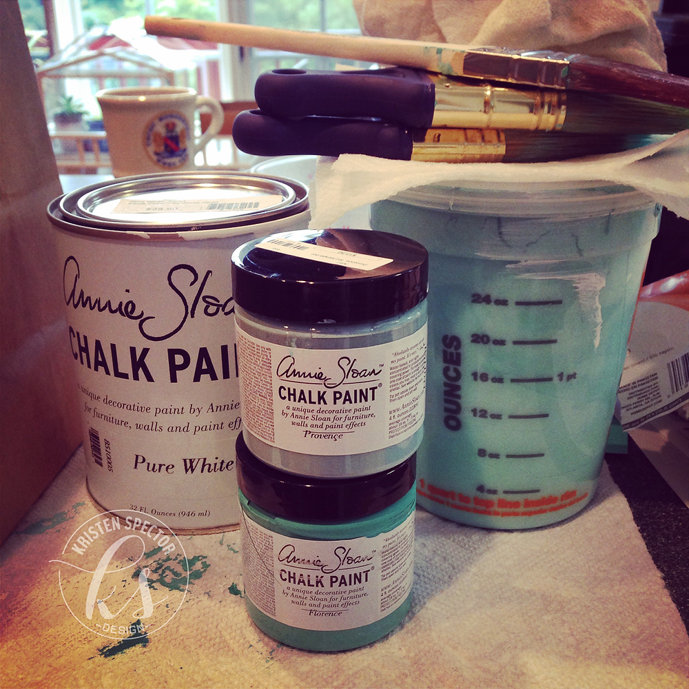 100 Crafty Days, Day 48 Chalk Paint