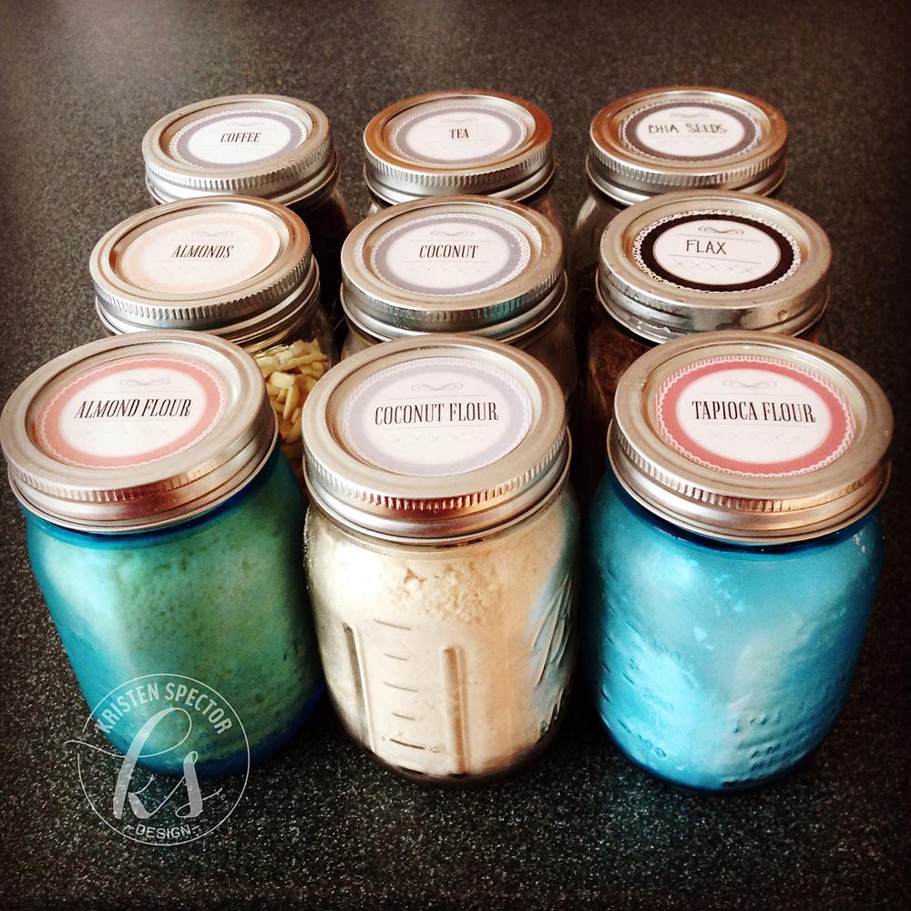 100 Crafty Days, Day 5 Mason Jar DIY