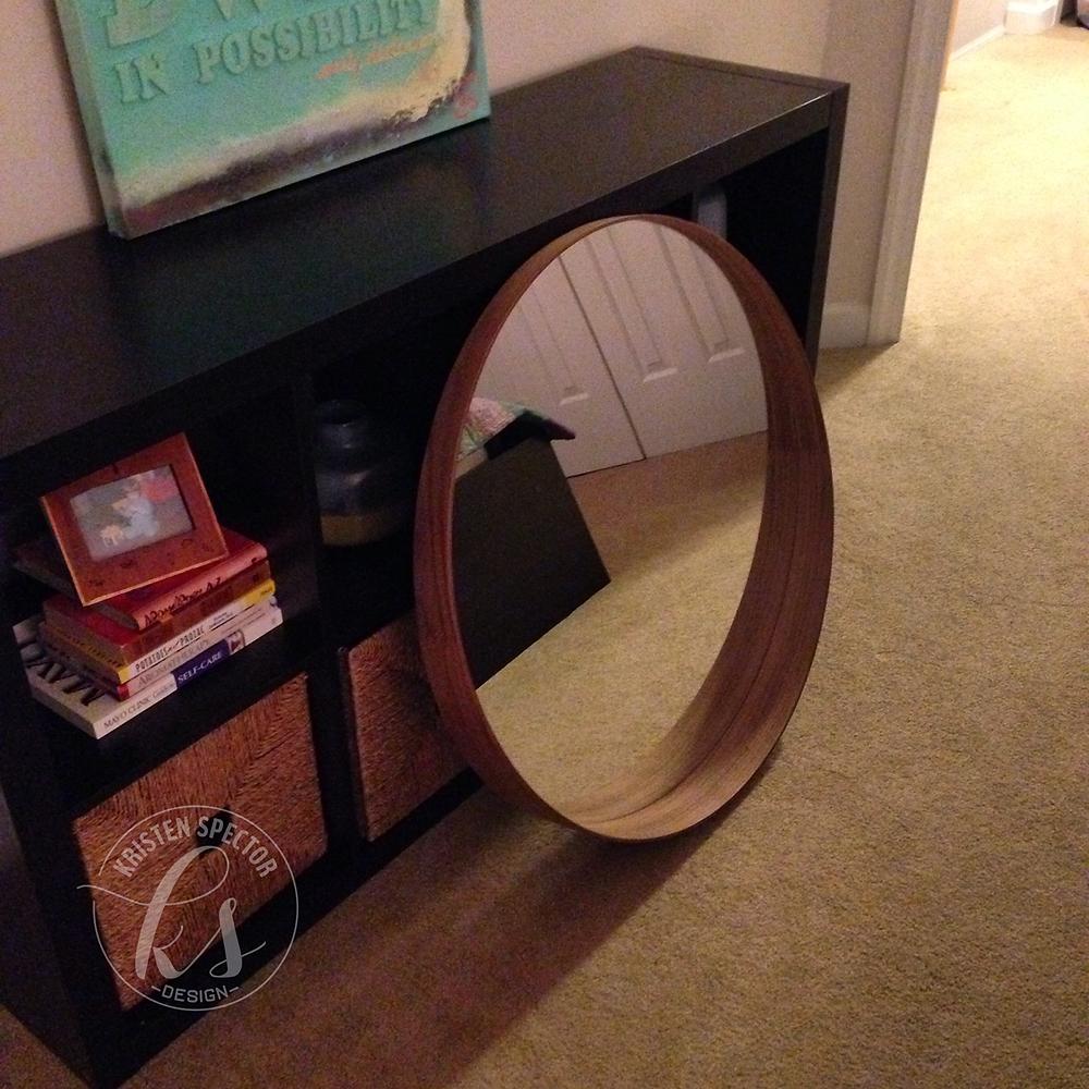 100 Crafty Days, Day 40 New Ikea Mirror