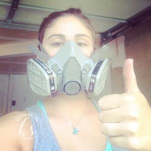 Respirator Selfie!