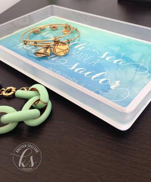 DIY - Resin Jewelry Tray / Catchall