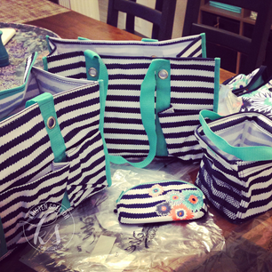 Organizing with Thirty-One Bags