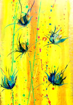 Cornflowers - detail
