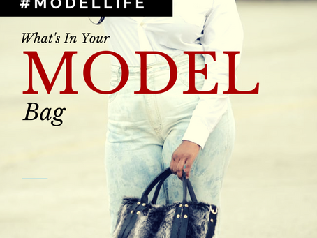 Model Life | What's in Your Model Bag