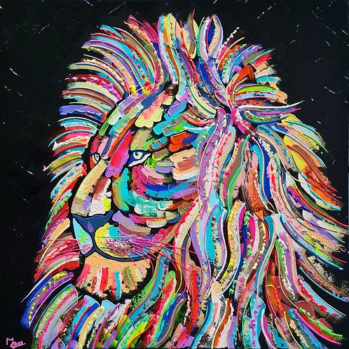 Lion majestueux