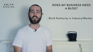 Screen Shot from Smith Tips #2 video - Reason 2 - Build Authority in Your Industry