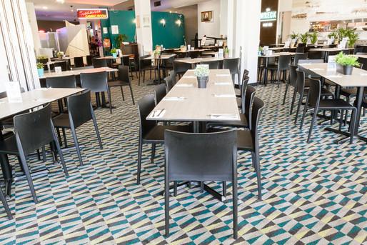 Dicky Beach Surf Club - dining area