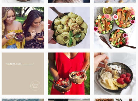 Chess, Instagram & Coconut Bowls