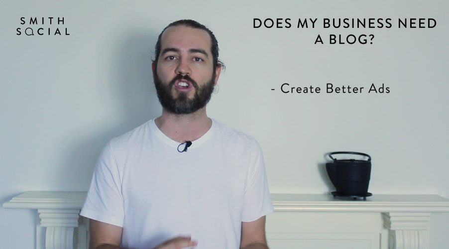 Screen Shot from Smith Tips #2 video - Reason 4 - Create Better Ads