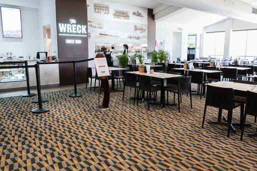 Dicky Beach Surf Club - dining are