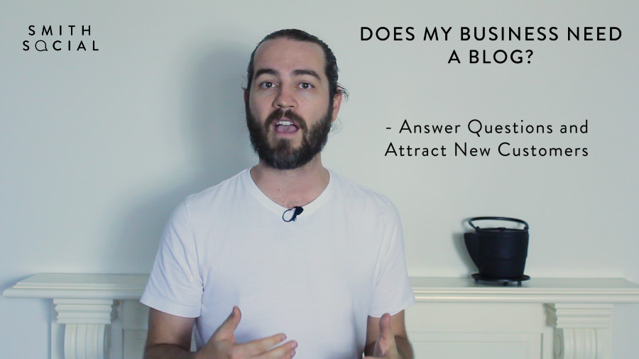 Screen Shot from Smith Tips #2 video - Reason 5 - Answer questions that people searching for specifically on Google