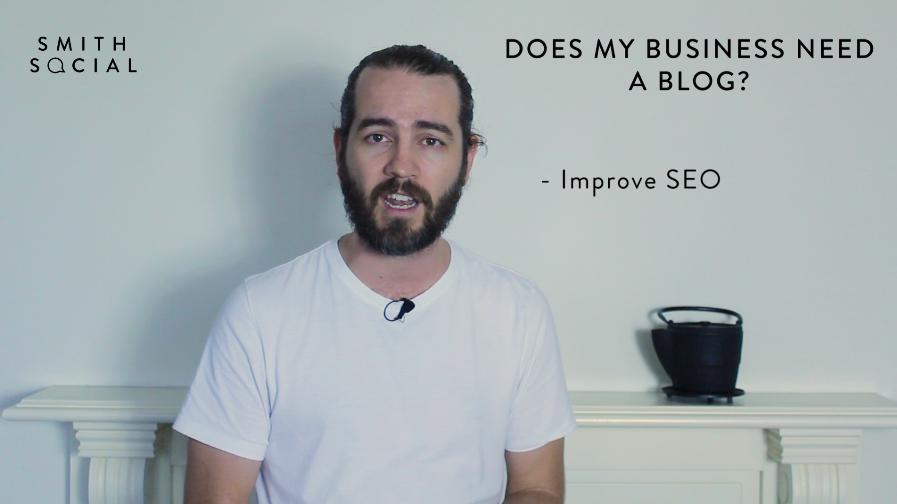 Screen Shot from Smith Tips #2 video - Reason 3 - Improve SEO