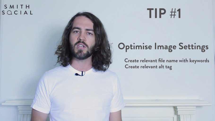 Smith Tips Video Screenshot Tip 1 Optimise Image Settings