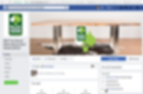 Screen Shot WAFMA Facebook page, created by Smith Social