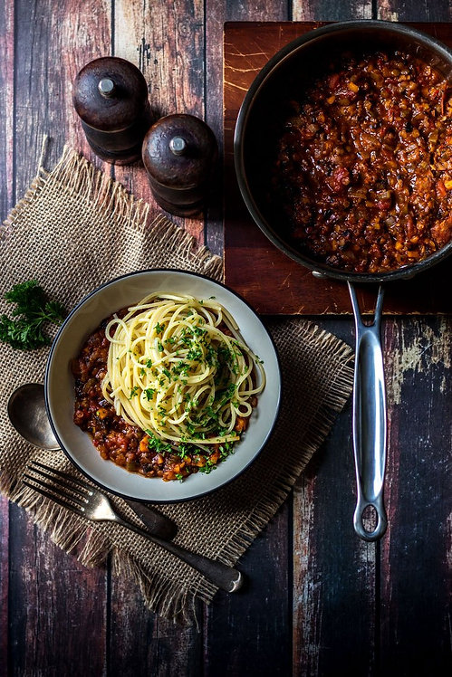 One Pot | Spaghetti Bolognese Sauce