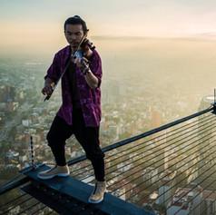 Violin Rooftop. Film Piece.