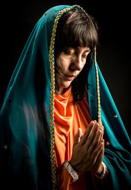Virgen de Guadalupe - largometraje Meditaciones desde el ombligo de la luna.