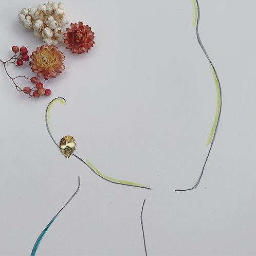 ASPEN Mini Leaf Stud Earrings