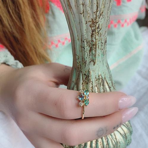 MUSKA Ring - BLUE