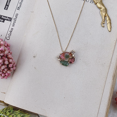 FLOR Necklace - Fresh Meadow