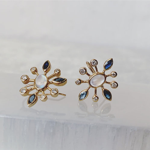 SUNDEW MOON Earrings