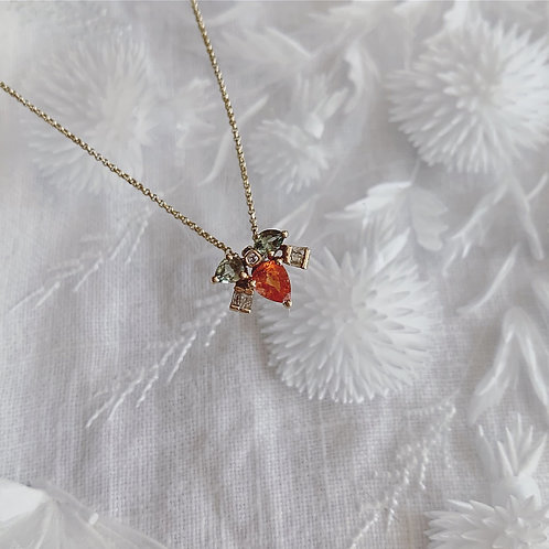 MUSKA Necklace - Orange Blossom