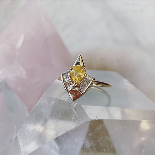 FLY HIGH Ring - YELLOW