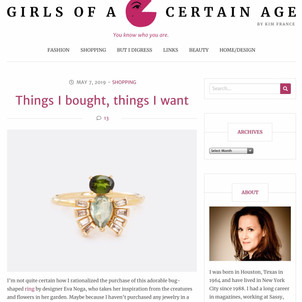 Girls of a certain age blog