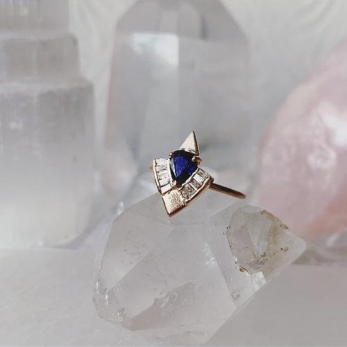 FLY HIGH Ring - ROYAL BLUE